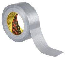"3M SCOTCH Ragasztószalag, vinyl, 48 mm x 50 m, 3M SCOTCH ""Duct"", ezüst"