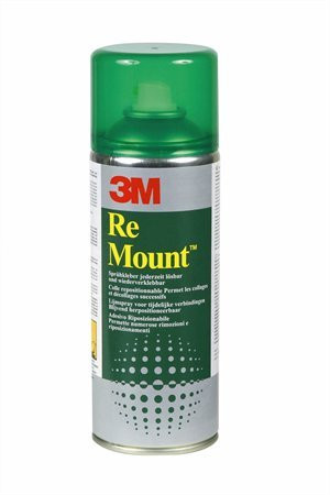 "3M SCOTCH Ragasztó spray, 400 ml, 3M SCOTCH ""ReMount"""