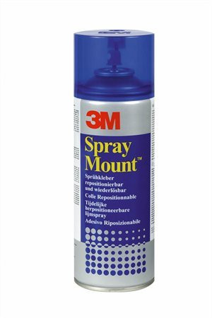 """3M SCOTCH Ragasztó spray, 400 ml, 3M SCOTCH """"SprayMount"""""""