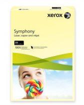 """XEROX Másolópapír, színes, A4, 160 g, XEROX """"Symphony"""", világossárga (pasztell)"""