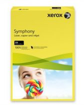 """XEROX Másolópapír, színes, A4, 160 g, XEROX """"Symphony"""", sötétsárga (intenzív)"""