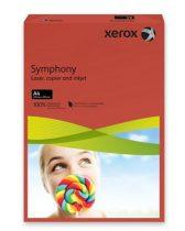 """XEROX Másolópapír, színes, A4, 160 g, XEROX """"Symphony"""", sötétpiros (intenzív)"""