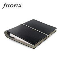"""FILOFAX Kalendárium, gyűrűs, betétlapokkal, A5 méret, FILOFAX, """"Domino"""", fekete"""
