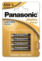 "PANASONIC Elem, AAA mikro, 4 db, PANASONIC ""Alkaline power"""
