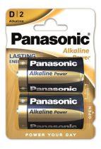 "PANASONIC Elem, D góliát, 2 db, PANASONIC ""Alkaline power"""