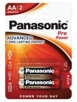 "PANASONIC Elem, AA ceruza, 2 db, PANASONIC ""Pro power"""