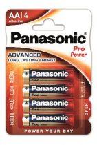 "PANASONIC Elem, AA ceruza, 4 db, PANASONIC ""Pro power"""