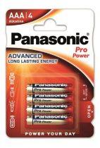 "PANASONIC Elem, AAA mikro, 4 db, PANASONIC ""Pro power"""
