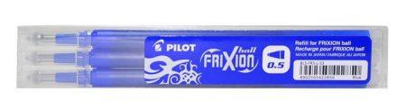"""PILOT Rollertoll betét, 0,25 mm, törölhető, PILOT """"Frixion Ball/Clicker"""", kék"""