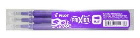 """PILOT Rollertoll betét, 0,25 mm, törölhető, PILOT """"Frixion Ball/Clicker"""", lila"""