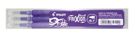 """PILOT Rollertoll betét, 0,35 mm, törölhető, PILOT """"Frixion Ball/Clicker"""", lila"""