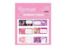 "PULSE Füzetcímke, 30 db, PULSE, ""Girls"""