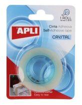 "APLI Ragasztószalag, 19 mm x 33 m, magasfényű, APLI ""Crystal"""
