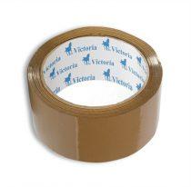 VICTORIA Csomagolószalag, 50mm x 60m, VICTORIA, barna