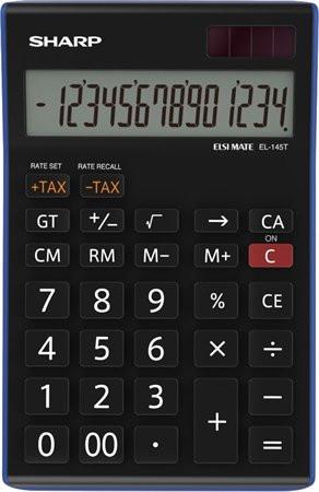 """SHARP Számológép, asztali, 14 számjegy, SHARP """"EL-145TBL"""""""