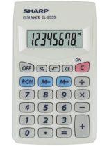 """SHARP Zsebszámológép, 8 számjegy, SHARP """"EL-233S"""""""