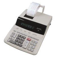 """SHARP Számológép, szalagos, 12 számjegy, 2 színű nyomtató, SHARP """"CS-2635RHGYSE"""""""