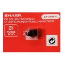 SHARP Festékhenger számológépekhez EL-1801E/C, EL2195L, EL-2901E/C típusokhoz, SHARP, piros