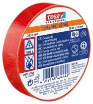 """TESA Szigetelőszalag, 19 mm x 20 m, TESA """"Professional"""", piros"""