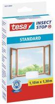 TESA Szúnyogháló, ablakra, tépőzáras, 1,1 x 1,3 m, TESA, fehér