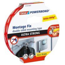 """TESA Ragasztószalag, kétoldalas, ultra erős, 19 mm x 5 m, TESA """"Powerbond"""""""