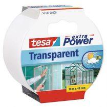 """TESA Ragasztószalag, textil erősítésű, 48 mm x 10 m, TESA, """"Extra Power"""", átlátszó"""
