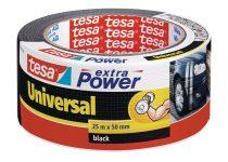 """TESA Ragasztószalag, 50 mm x 25 m, TESA """"extra Power"""", fekete"""