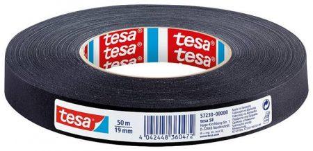 """TESA Ragasztószalag, textil erősítésű, 19 mm x 50 m, TESA """"Extra Power"""", fekete"""