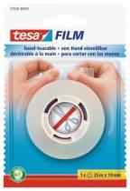 """TESA Ragasztószalag, kézzel téphető, 19 mm x 25 m, TESA """"Tesafilm"""", átlátszó"""