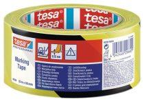 """TESA Jelölőszalag, 50 mm x 33 m, TESA """"Professional"""" fekete/sárga"""