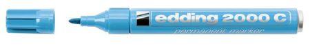 """EDDING Alkoholos marker, 1,5-3 mm, kúpos, EDDING """"2000"""", világoskék"""