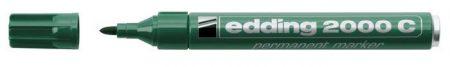"EDDING Alkoholos marker, 1,5-3 mm, kúpos, EDDING ""2000"", zöld"