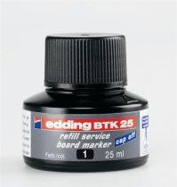 """EDDING Utántöltő tábla- és flipchart markerhez, EDDING """"BTK 25"""", fekete"""