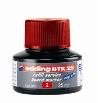 """EDDING Utántöltő tábla- és flipchart markerhez, EDDING """"BTK 25"""", piros"""