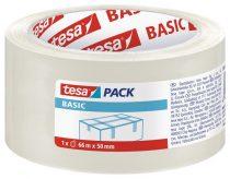 """TESA Csomagolószalag, 50 mm x 66 m, TESA """"Basic"""", átlátszó"""