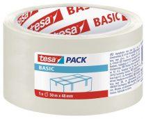 """TESA Csomagolószalag, 48 mm x 50 m, TESA """"Basic"""", átlátszó"""