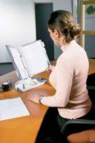 """TARIFOLD Bemutatótábla tartó, asztali, A4, 10 férőhelyes, TARIFOLD """"Design"""", szürke"""