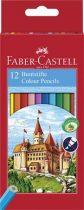 """FABER-CASTELL Színes ceruza készlet, hatszögletű, FABER-CASTELL """"Classic"""", 12 különböző szín"""