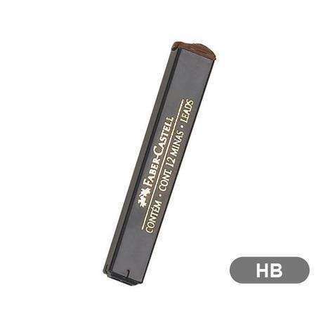 FABER-CASTELL Grafitbél, HB, 0,7 mm, FABER-CASTELL