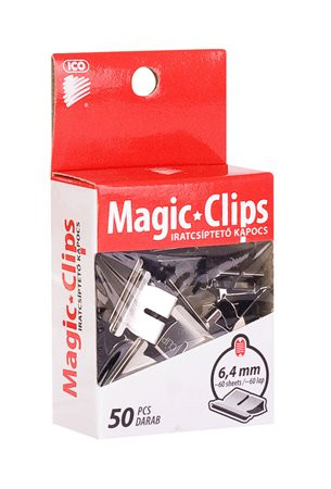 "ICO Kapocs, 6,4 mm, ICO ""Magic Clip"""