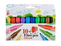 """ICO Filctoll készlet, 1-3 mm, ICO """"Süni"""", 10 különböző szín"""