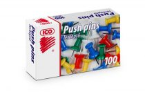 ICO Térképtű, színes, 100 db, ICO
