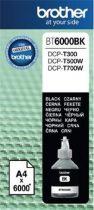 BROTHER BT6000BK Tintapatron DCP T-300, 500W, 700W nyomtatókhoz, BROTHER fekete, 6K