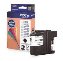 BROTHER LC223B Tintapatron MFC-J4420DW, MFC-J4620DW nyomtatókhoz, BROTHER, fekete, 550 oldal