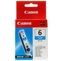 CANON BCI-6C Tintapatron BJC-8200 Photo, i560 nyomtatókhoz, CANON, cián, 13ml