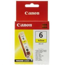 CANON BCI-6Y Tintapatron BJC-8200 Photo, i560 nyomtatókhoz, CANON, sárga, 13ml