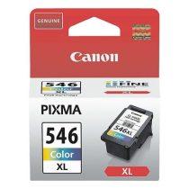 CANON CL-546XL Tintapatron Pixma MG2450, MG2550 nyomtatókhoz, CANON színes, 300 oldal
