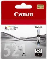 CANON CLI-521B Tintapatron Pixma iP3600, 4600, MP540 nyomtatókhoz, CANON, fekete, 9ml