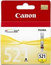 CANON CLI-521Y Tintapatron Pixma iP3600, 4600, MP540 nyomtatókhoz, CANON sárga, 9ml