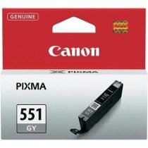 CANON CLI-551GY Tintapatron Pixma MG6350 nyomtatóhoz, CANON szürke, 780 oldal
